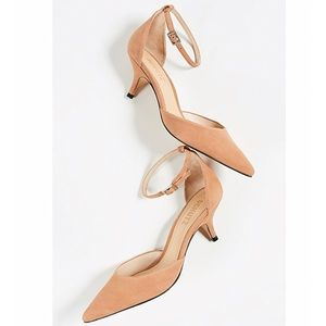 Schutz Women's Kamilli Pump in Toasted Nut
